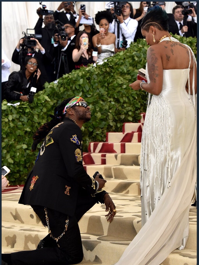 2 Chainz Proposes To His Wife At The Met Gala 2018 Watch-7872