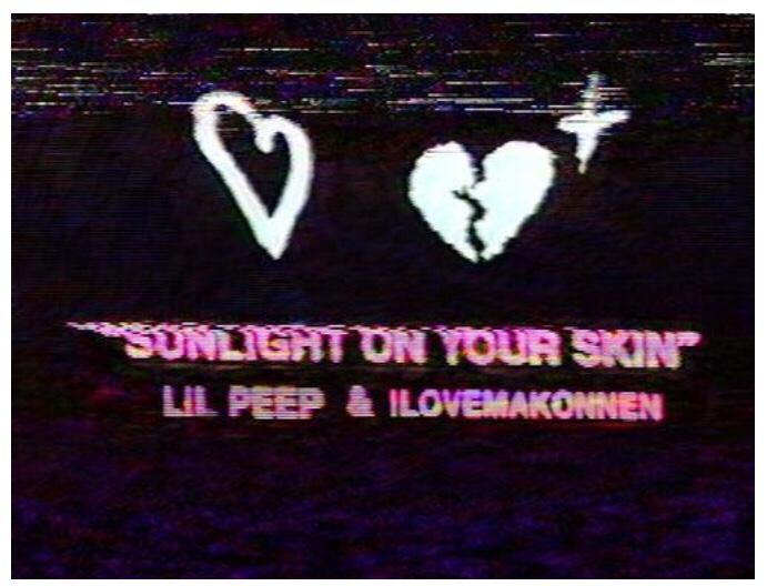 Lil Peep & ILoveMakonen - Sunlight On My Skin (Song)