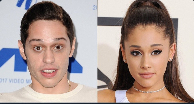 Pete Davidson Jokes About His 4 month Engagement To Ariana Grande