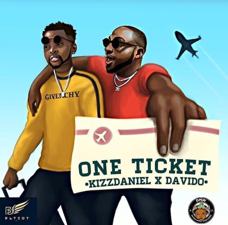 Kizz Daniel ft. Davido - One Ticket (Song)