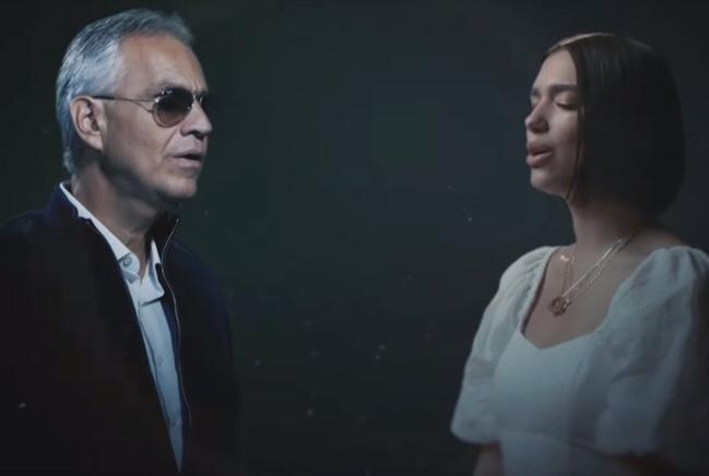 Andrea Bocelli ft. Dua Lipa  - If Only (Video)