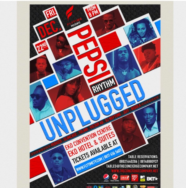 PEPSI RHYTHM UNPLUGGED RETURNS WITH A BANG ON DAY 1 OF THE FLYTIME MUSIC FESTIVAL!
