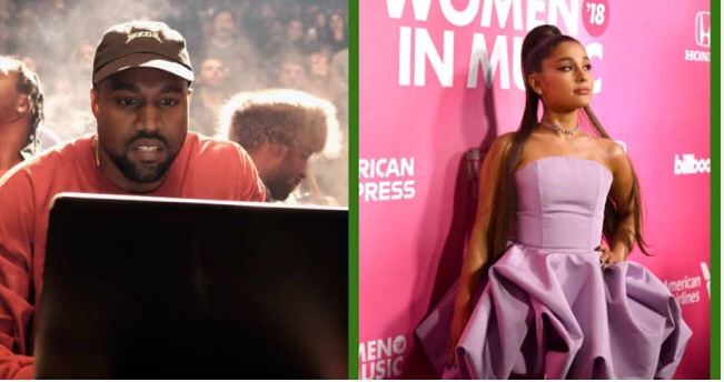Ariana Grande Apologizes To Kanye West And Calls It A Joke