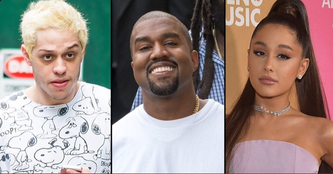 Pete Davidson Blasts Ariana Grande For Her Kanye West Comment